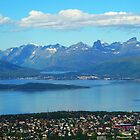 Looking Down on Tromso by trish725