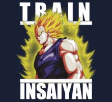 Train insaiyan - Vegeta No Armor by Ali Gokalp