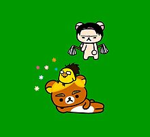 Attack on Rilakkuma - Erwin, Hange & Levi by Himeno Masuta