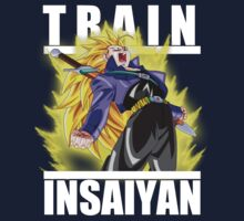 Train insaiyan - Trunks super saiyan 3 by Ali Gokalp