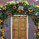 A flowery entrance by Arie Koene