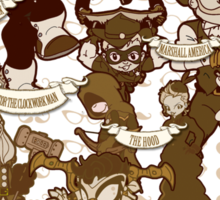 Lil steampunk Avengers Sticker