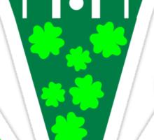 St. Patrick's day tuxedo Sticker