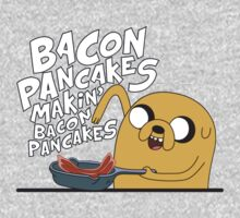 Adventure Time - Jake / Bacon Pancakes by KalliroeTrope