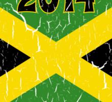 Vintage 2014 Jamaican Bobsled Team Sochi Olympics T Shirt Sticker