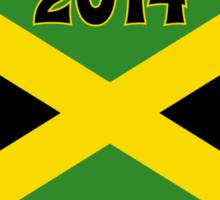 2014 Jamaican Bobsled Team Sochi Olympics T Shirt Sticker
