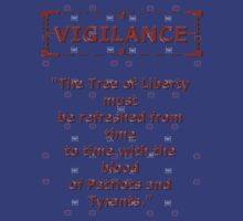 Vigilance Tree of Liberty by REDROCKETDINER