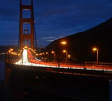 Golden Gate Trails - The Blue Hour by Revive The Light Photography
