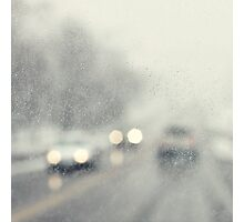 let it rain Photographic Print