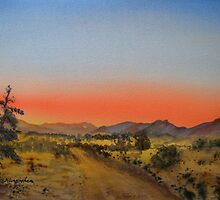 Alpana Station - Flinders ranges - South Australia by Kay Cunningham