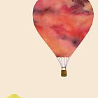 Sunset Balloon  by Kanika Mathur