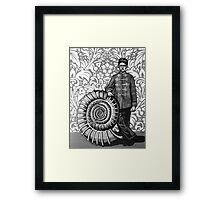 Ammonite Framed Print
