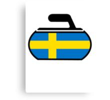 Sweden Curling Canvas Print