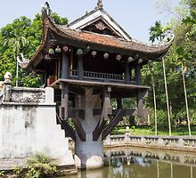 one pillar pagoda by Anne Scantlebury