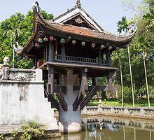 one pillar pagoda by Anne Scantlebury