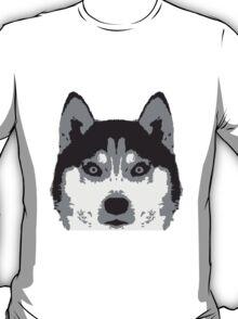 Husky Face T-Shirt