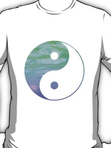 Yin & Yang- blue and purple T-Shirt