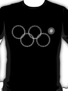 Sochi Olympic Snowflake Rings T-Shirt