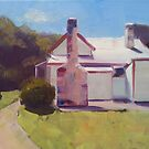 Old settler's cottage, Port Arthur, Tasmania  by Tash  Luedi Art