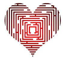 maze in the heart by siloto