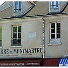Montmartre Artist's Square, Paris by Claire McCall