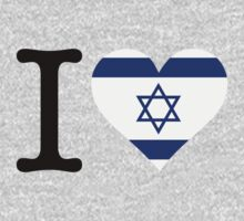 I Love Israel by artpolitic