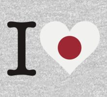 I Love Japan by artpolitic