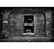 Toronto Distillery District Art Gallery Window Photographic Print