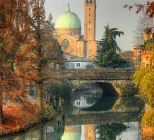 Double Autumnal Landscape from Padua by EllaRoveda