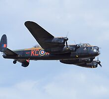 Avro Lancaster PA474 Of The Battle Of Britain Memorial Flight  by sean-gibson