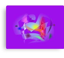 Small World Purple  Canvas Print