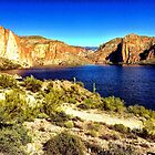 Canyon Lake, Tonto National Forest, Arizona. USA by fauselr