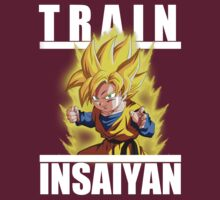 Train insaiyan - Kid Goten by Ali Gokalp