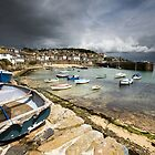 Cornwall - May in Mousehole by Angie Latham