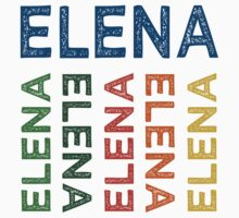 Elena Cute Colorful by Wordy Type