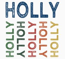Holly Cute Colorful by Wordy Type