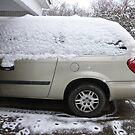 My Van In The Snow by WildestArt