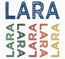 Lara Cute Colorful by Wordy Type