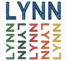 Lynn Cute Colorful by Wordy Type