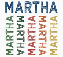 Martha Cute Colorful by Wordy Type