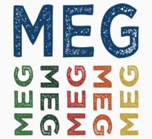 Meg Cute Colorful by Wordy Type
