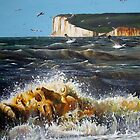 Sussex Sea by Paula Oakley