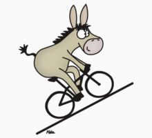 Biking Donkey by katelein