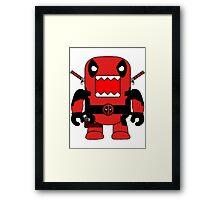 Domo Deadpool Framed Print