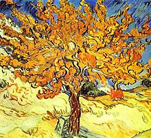 The Mulberry Tree, Vincent van Gogh by naturematters