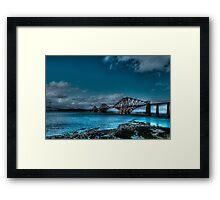Forth Bridge Edinburgh Framed Print