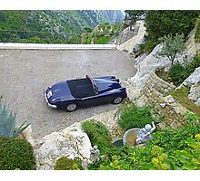 Private Parking In Eze Photographic Print