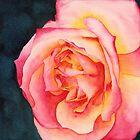 Rose Ablaze by Ken Powers