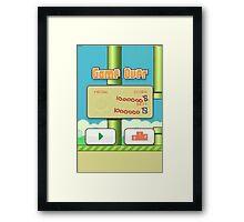 Flappy Bird Master Framed Print