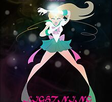 Lightning Master - Sailor Jupiter by Theneeko